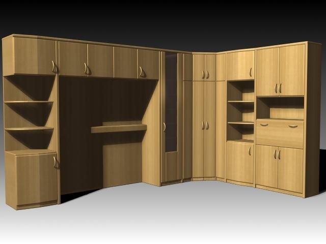 cabinet wardrobe 3d max