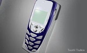 3d cellphone nokia 8310