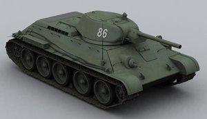 t-34 3d max