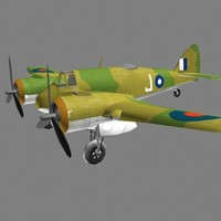 3d beaufighter ww2