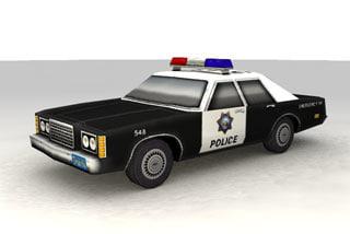 cop cruiser 3d lwo