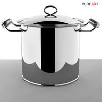 3ds max cookware hotpot pot mikya
