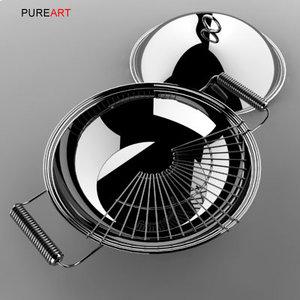 3d model cookware pot mikya