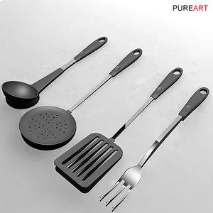 cookware spatula 3d model