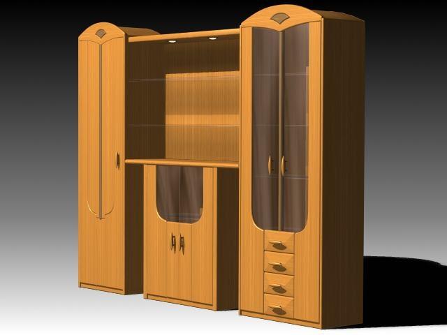 furniture cabinet 3d max