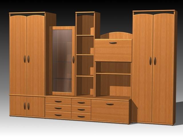furniture cabinet wardrobe 3ds
