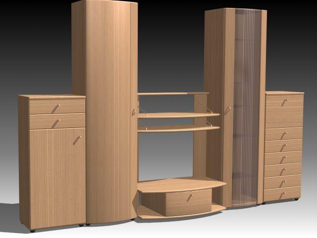 furniture cabinet 3d model