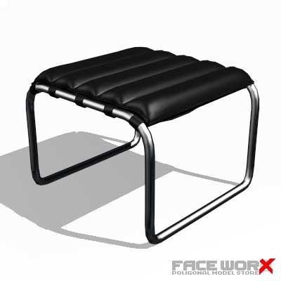 3ds max faceworx stool