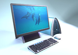 3d pc keyboard