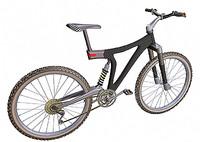 mountain bike studiotools 3d model