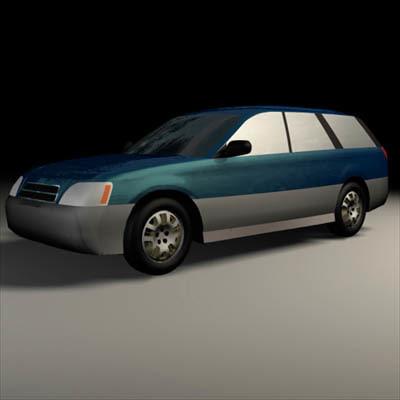 subaru outback 3d model