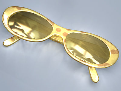 3d obj sunglasses glasses sun
