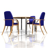 meeting table chairs lwo