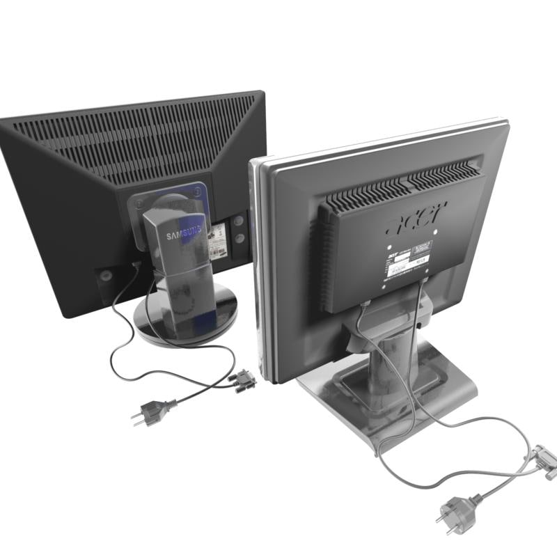 acer samsung syncmaster monitors 3d max
