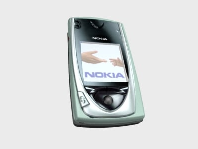 3d model nokia 7650 mobile phone