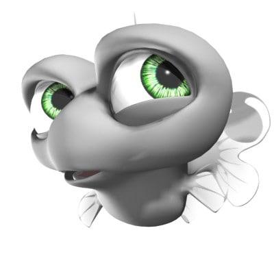 free bone 3d model