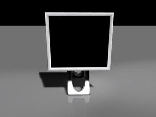 model screen monitor lcd
