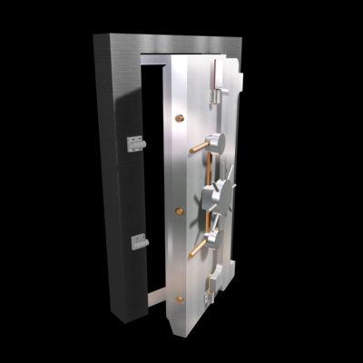 3dsmax vault door