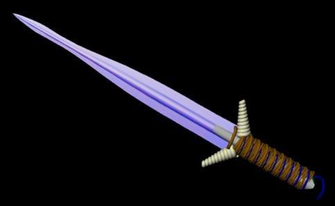 sword crystal obj free