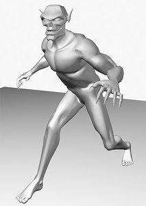 maya demon jointed