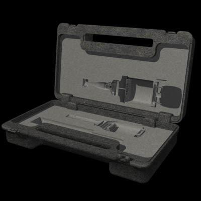 3d model drill case