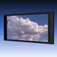 flat screen monitor 3d model