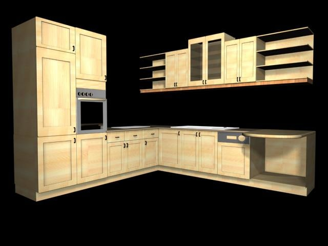 3ds max furniture kitchen