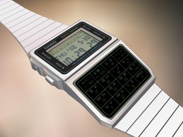 3d watch casio