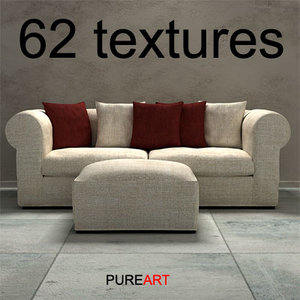 couch sofa furniture 3d model