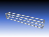 truss stages film 3d model