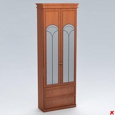 wardrobe dresser 3d 3ds