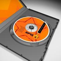 dvd case 3d max