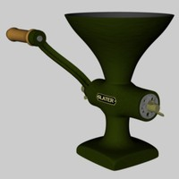 mincer meat grinder 3d c4d