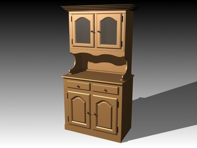 3d model furniture cabinet