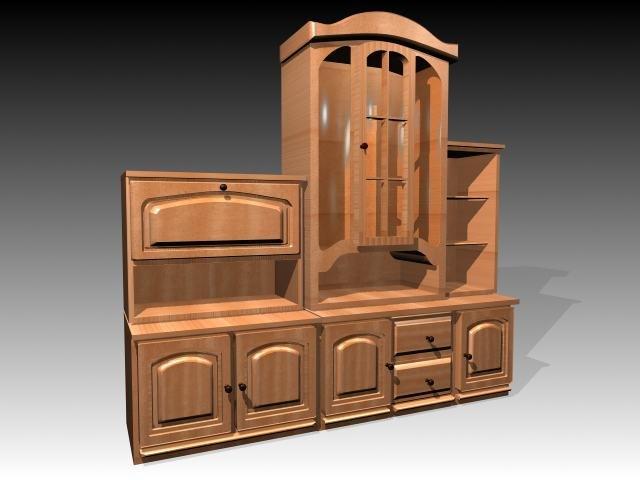 3ds max furniture cabinet