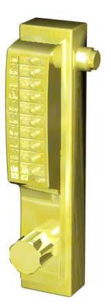 brass locking 3d model