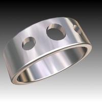 ring trinket jewellery 3d max