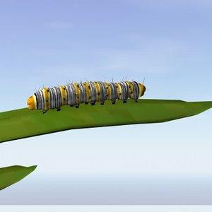 3d model forester caterpillar