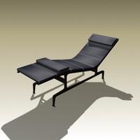 3d max charles eames chaise longue