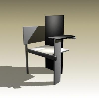 chair furniture 3d model