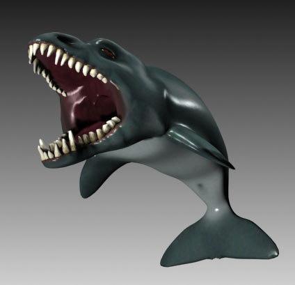 creature dragonfish fantasy dragon 3d max