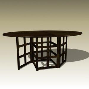 max charles rennie 1 table