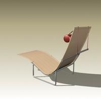 poul kjaerholm chair 3d max