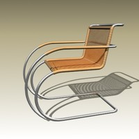 max ludwig mies mr20 chair