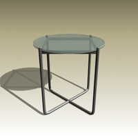 3d model ludwig mies table