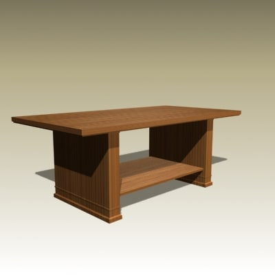3ds max frank table