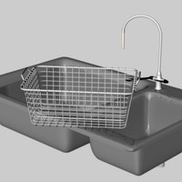 sink basket 3d model