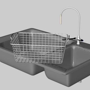 sink basket 3d model