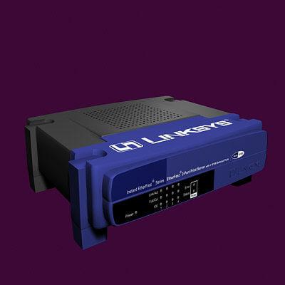 3d model print router