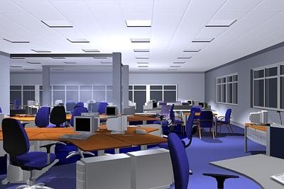 interior office scene vol max